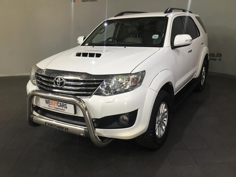 2013 Toyota Fortuner 3.0d-4d 4x4 At  Western Cape Cape Town_0