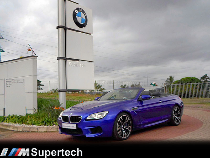 2017 BMW M6 Convertible f12  Kwazulu Natal Durban_0