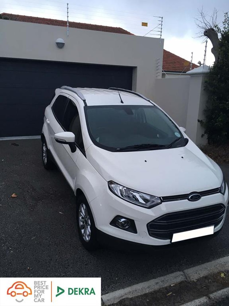 2016 Ford EcoSport 1.5TDCi Titanium Western Cape Goodwood_0