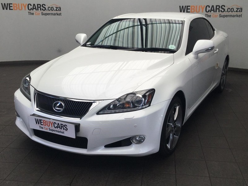 2011 Lexus IS 250 Convert Ltd  Gauteng Centurion_0