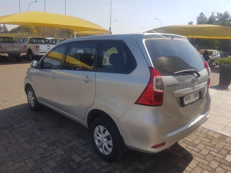 2019 Toyota Avanza 1.3 SX Gauteng Vereeniging_0