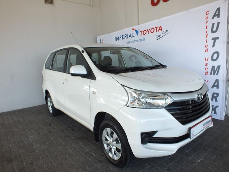2018 Toyota Avanza 1.5 SX Western Cape Brackenfell_0
