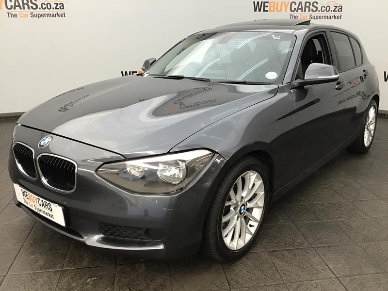 2012 BMW 1 Series 118i 5dr At f20  Gauteng Centurion_0