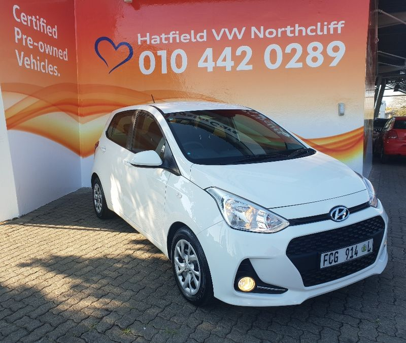 2018 Hyundai i10 Grand i10 1.0 Motion Gauteng Randburg_0