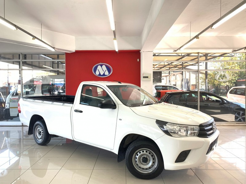 Used Toyota Hilux 2 0 VVTi A/C Single Cab Bakkie for sale in
