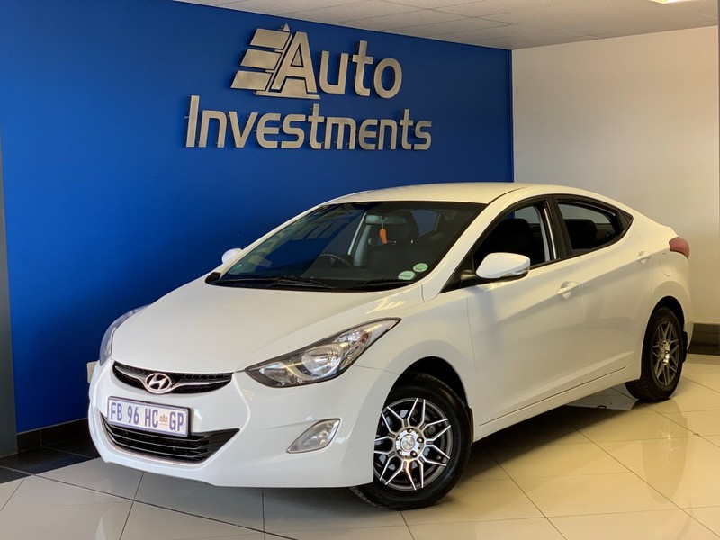 2011 Hyundai Elantra 1.6 Gls  Gauteng Vanderbijlpark_0