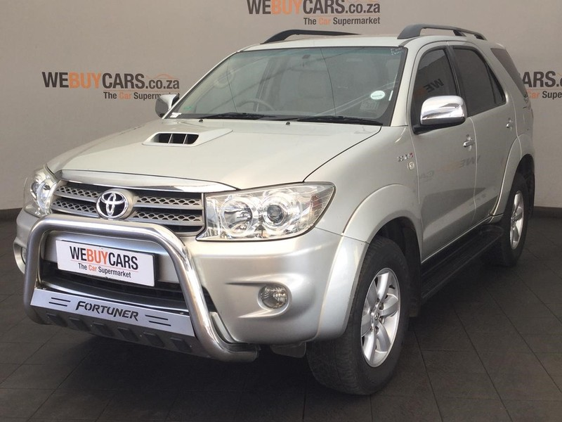 2011 Toyota Fortuner 3.0d-4d Rb At  Gauteng Centurion_0