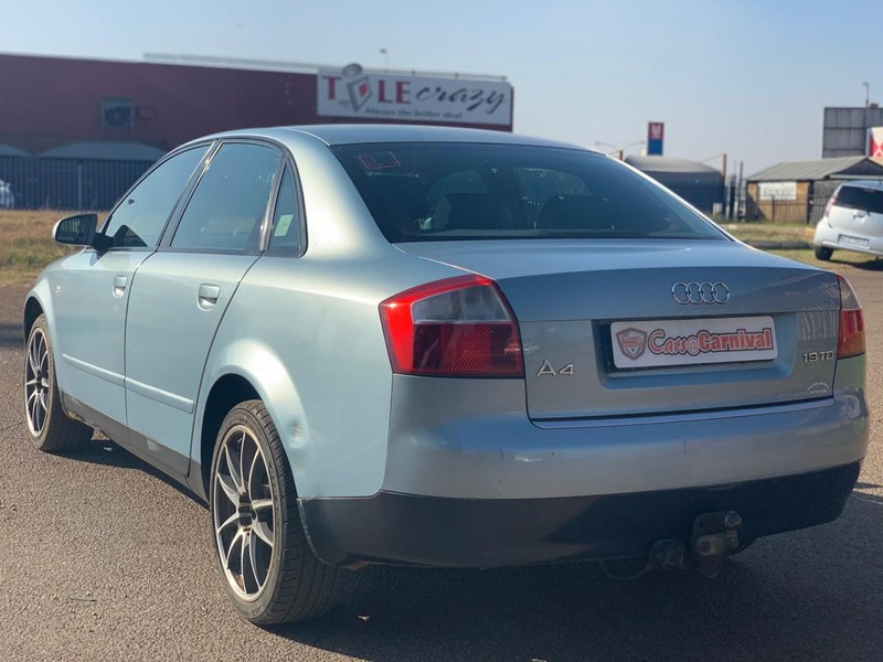 Used Audi A4 1 9 Tdi Manual with SUNROOF for sale in Gauteng