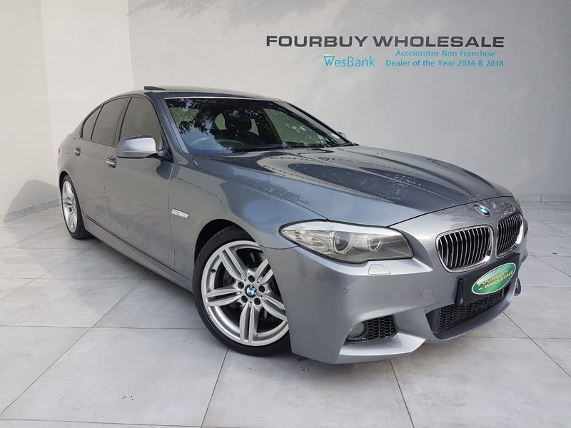 Used BMW 5 Series 535i M Sport A/t (f10) for sale in Gauteng