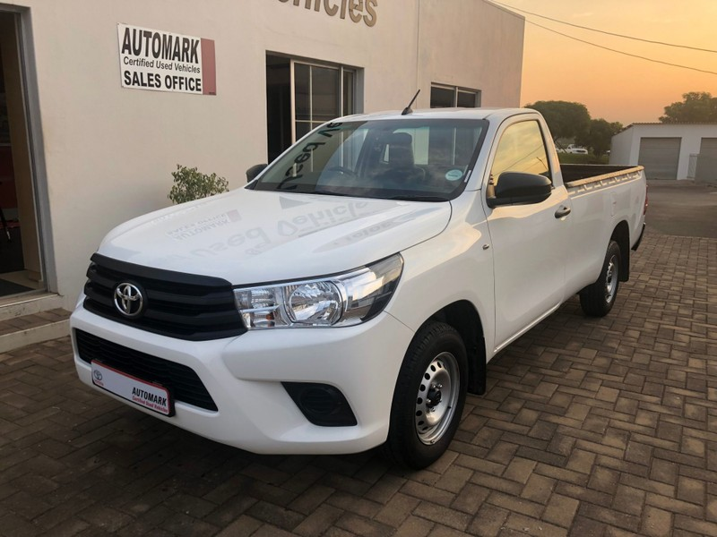 Used Toyota Hilux 2 4 GD A/C Single Cab Bakkie for sale in