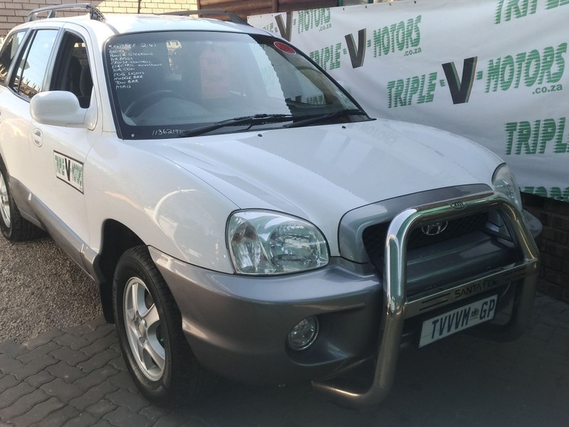 2001 Hyundai Santa Fe 2.4  Gauteng Pretoria_0