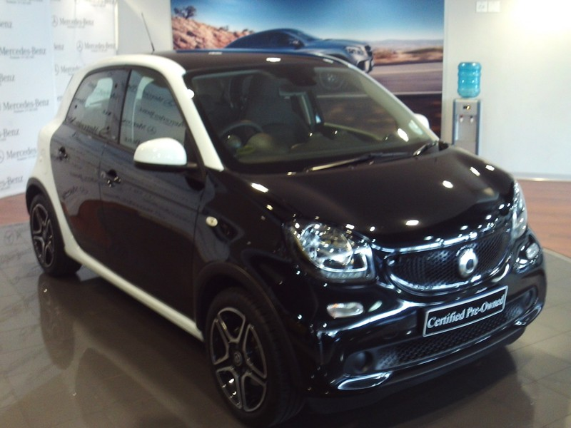 2018 Smart Forfour Prime Auto Gauteng Johannesburg_0
