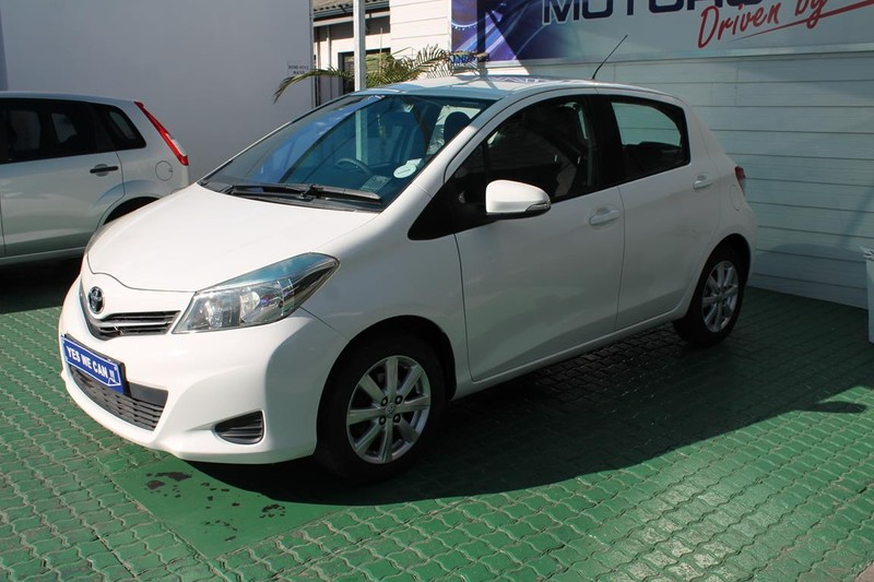 2012 Toyota Yaris 1.3 Xs 5dr  Western Cape Cape Town_0