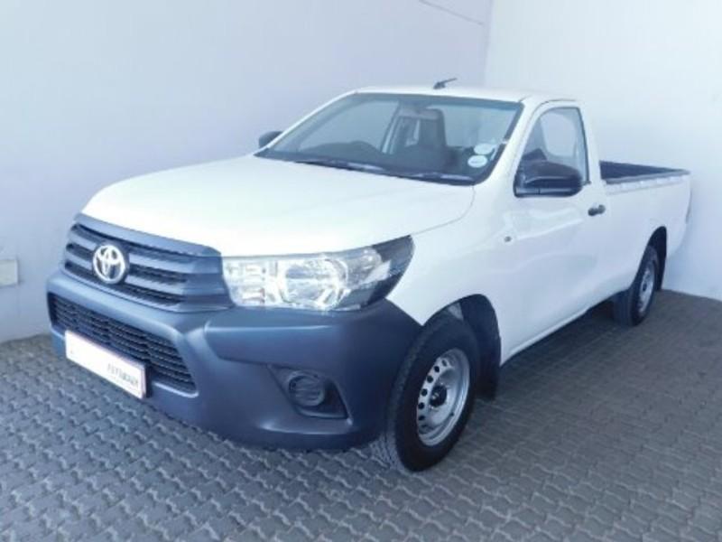 2018 Toyota Hilux 2.4 GD Single Cab Bakkie Gauteng Soweto_0