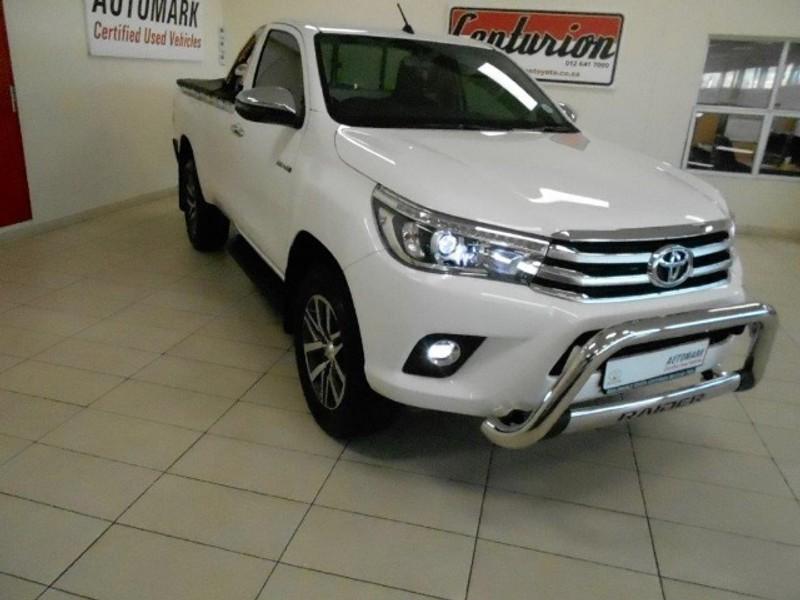 2019 Toyota Hilux 2.8 GD-6 Raider 4X4 Auto Single Cab Bakkie Gauteng Centurion_0