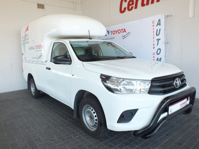 2019 Toyota Hilux 2.4 GD Single Cab Bakkie Western Cape Brackenfell_0