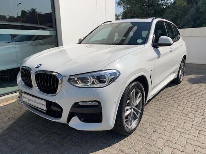 2018 BMW X3 xDRIVE 20d M-Sport G01 Gauteng Johannesburg_0