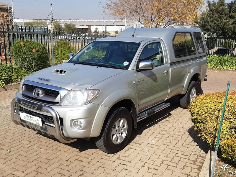 2010 Toyota Hilux 3.0 D-4d Raider Rb Pu Sc  Gauteng Centurion_0