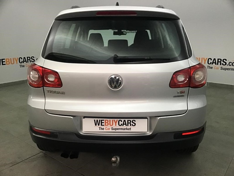 2011 Volkswagen Tiguan 1.4 Tsi Bmot Trend- Fun  Gauteng Johannesburg_0
