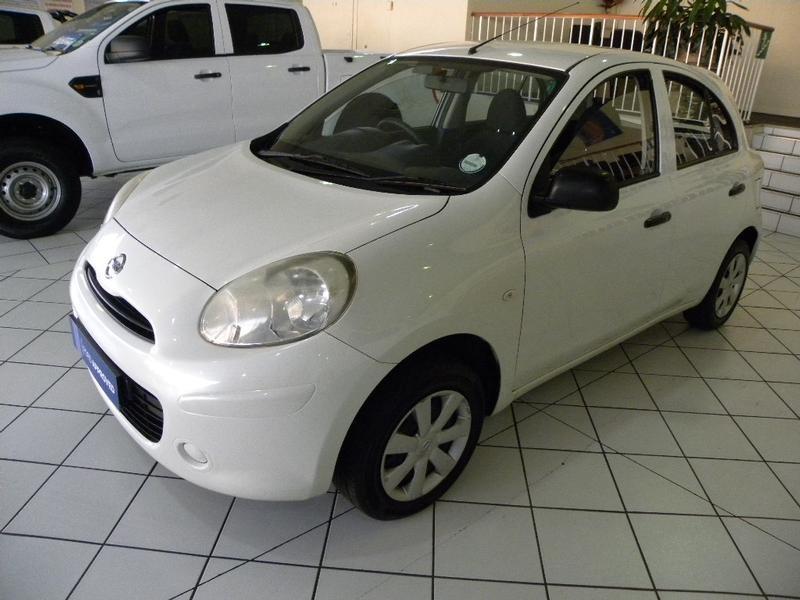 2011 Nissan Micra 1.2 Visia 5dr d82  Gauteng Springs_0