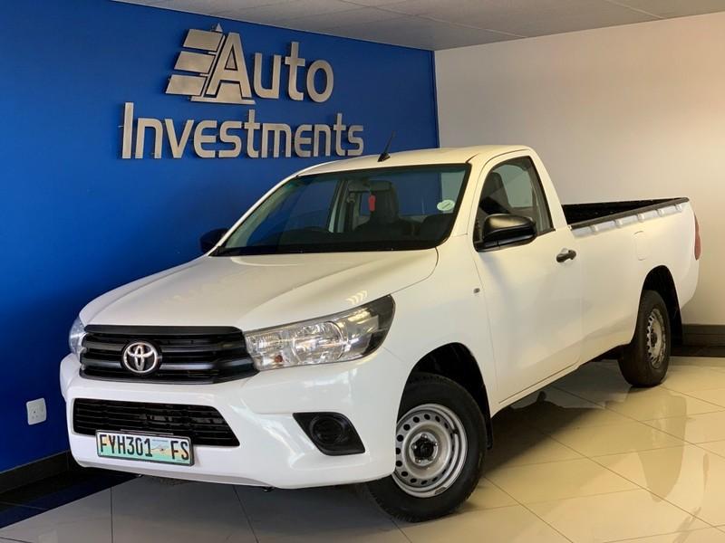 2017 Toyota Hilux 2.4 GD Single Cab Bakkie Gauteng Vanderbijlpark_0