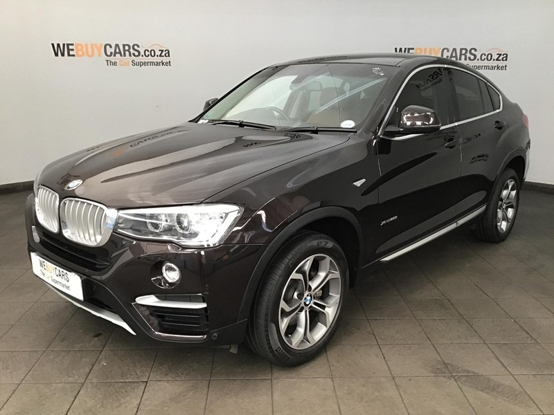 2015 BMW X4 xDRIVE20i xLINE Gauteng Centurion_0