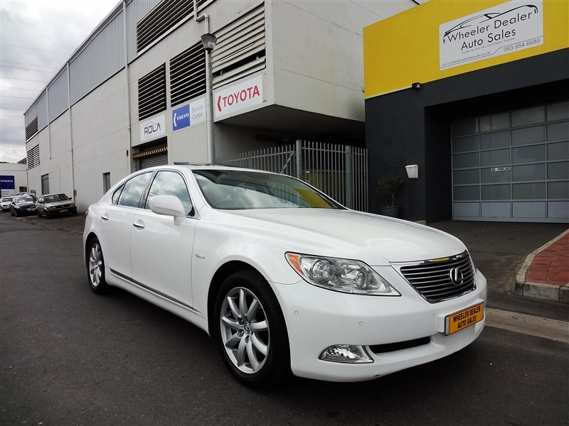 Used Lexus Ls 460 For Sale In Western Cape Cars Co Za