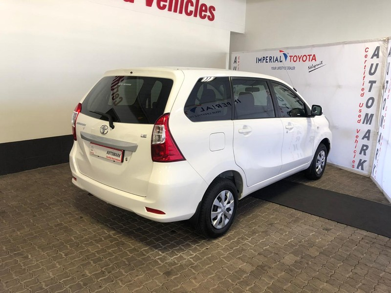 Used Toyota Avanza 1 3 SX for sale in Mpumalanga - Cars co za (ID