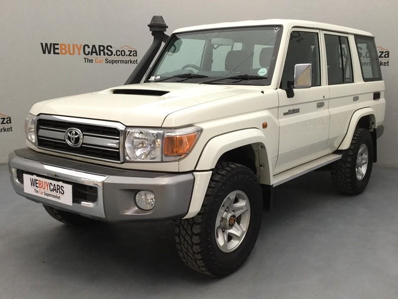 2014 Toyota Land Cruiser 70 4.5D V8 SW Gauteng Pretoria_0