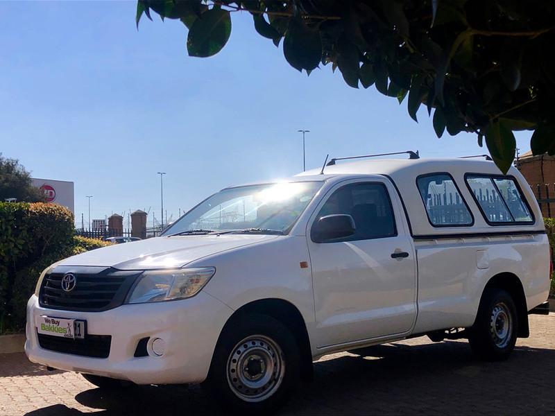 2011 Toyota Hilux 2.0 Vvti S Pu Sc  Gauteng Centurion_0