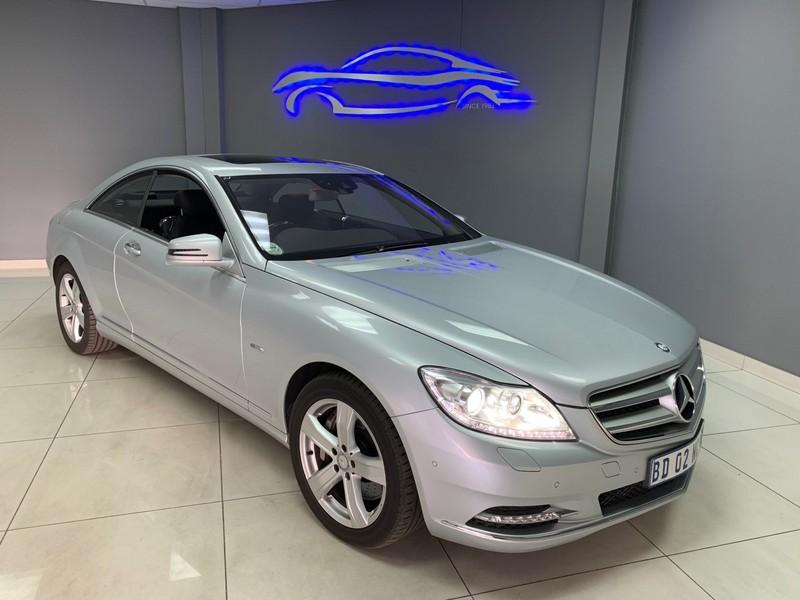 2011 Mercedes-Benz CL-CLass Cl 500 Blue Efficiency  Gauteng Vereeniging_0