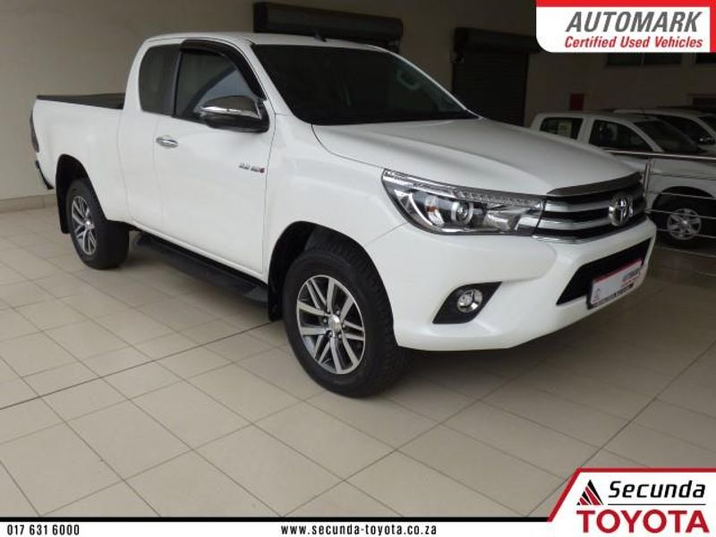 2018 Toyota Hilux 2.8 GD-6 RB Raider Extra Cab Bakkie Auto Mpumalanga Secunda_0