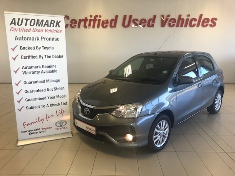 2019 Toyota Etios 1.5 Xs 5dr  Western Cape Kuils River_0