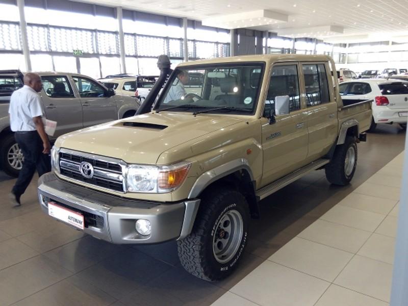 2013 Toyota Land Cruiser 70 4.5D Double cab Bakkie Limpopo Mokopane_0