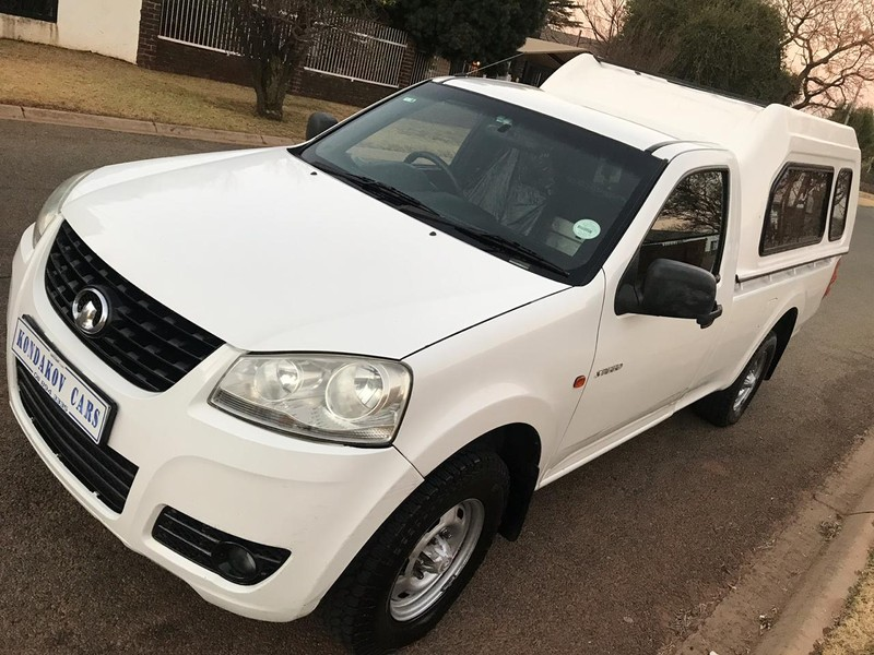 Used GWM Steed 2 2i Workhorse P/u S/c for sale in Gauteng