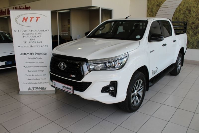 2018 Toyota Hilux 2.8 GD-6 RB Auto Raider Double Cab Bakkie Limpopo Phalaborwa_0