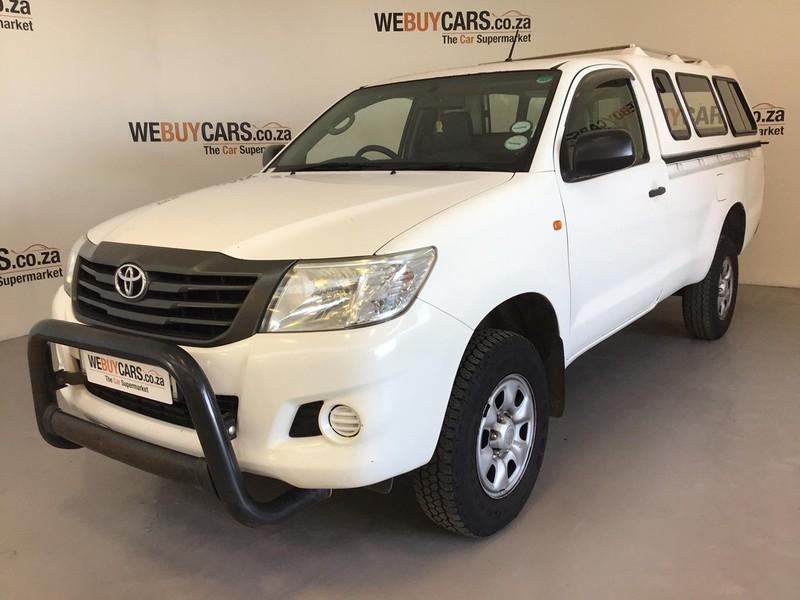 2014 Toyota Hilux 2.5 D-4d Srx 4x4 Pu Sc  Eastern Cape Port Elizabeth_0
