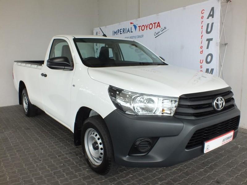 2019 Toyota Hilux 2.4 GD AC Single Cab Bakkie Western Cape Brackenfell_0