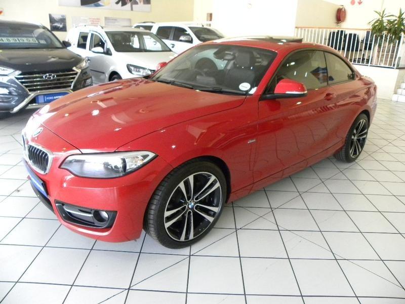 2016 BMW 2 Series 220D Sport Line Auto Gauteng Springs_0