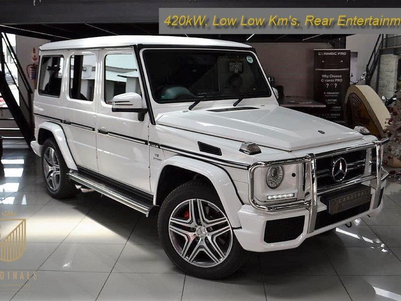Used Mercedes-Benz G-Class G63 AMG 7G-DCT Auto SUV (420kW