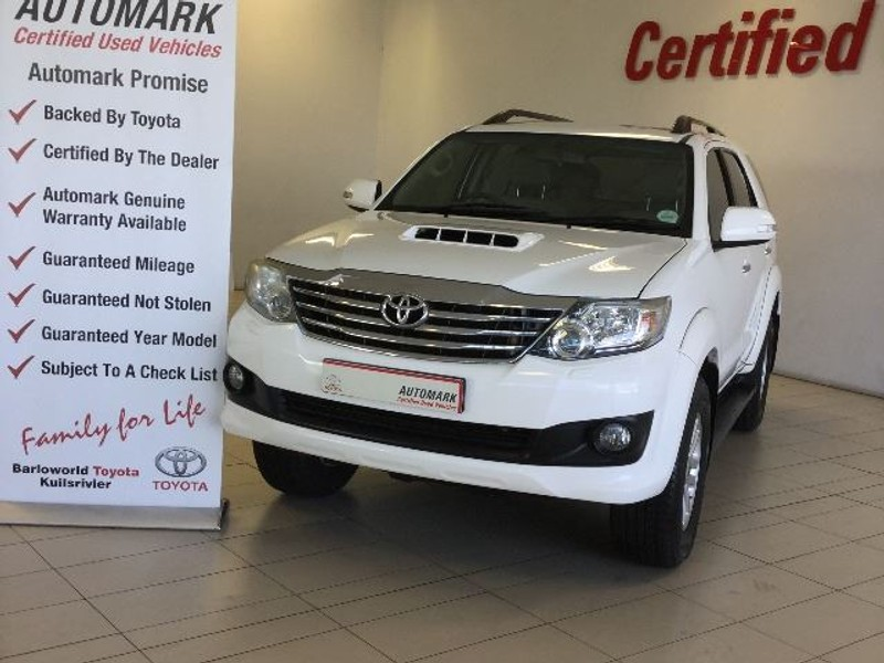 2012 Toyota Fortuner 3.0d-4d Rb  Western Cape Kuils River_0