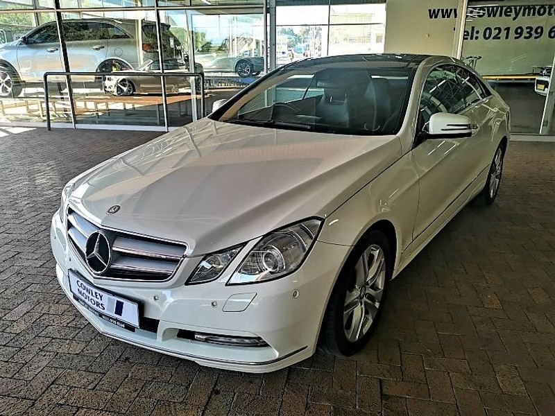 Used Mercedes Benz E Class E 350 Coupe For Sale In Western Cape