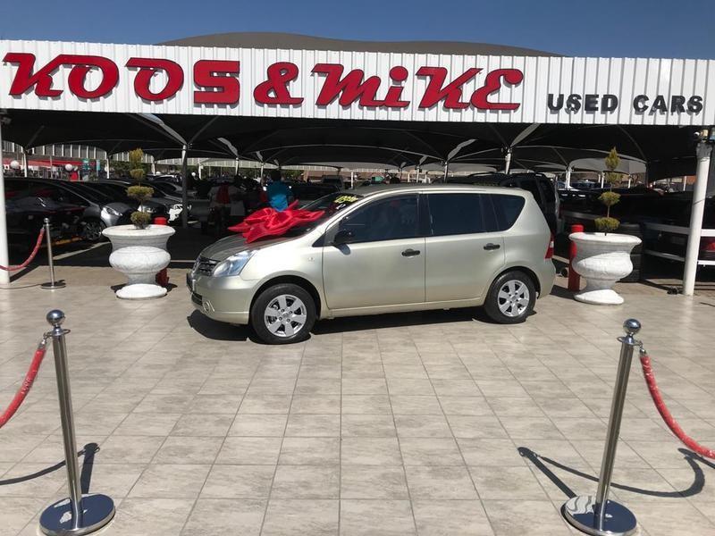 2012 Nissan Livina 1.6 Visia  Gauteng Vanderbijlpark_0