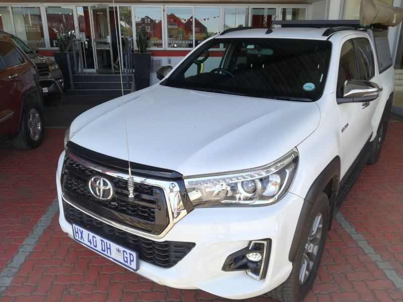 2019 Toyota Hilux 2.8 GD-6 RB Auto Raider Double Cab Bakkie Gauteng Centurion_0