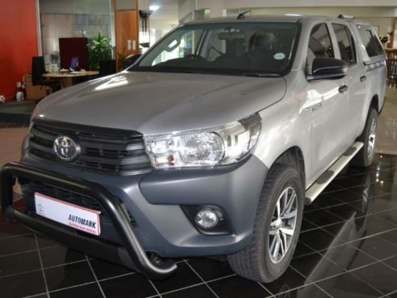 2019 Toyota Hilux 2.4 GD-6 SR 4X4 Double Cab Bakkie Western Cape Tygervalley_0