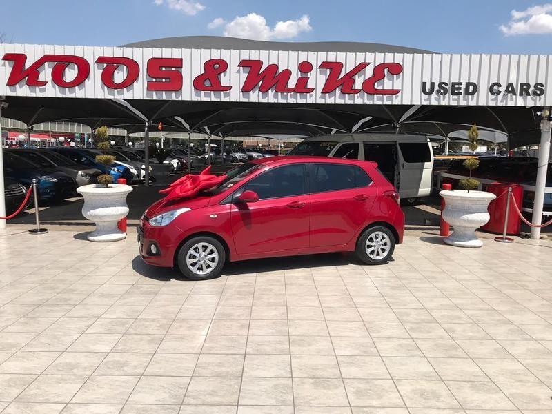 2014 Hyundai Grand i10 1.25 Motion Gauteng Vanderbijlpark_0