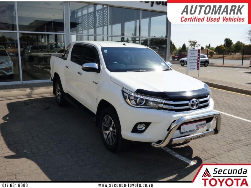 2018 Toyota Hilux 2.8 GD-6 Raider 4x4 Double Cab Bakkie Mpumalanga Secunda_0