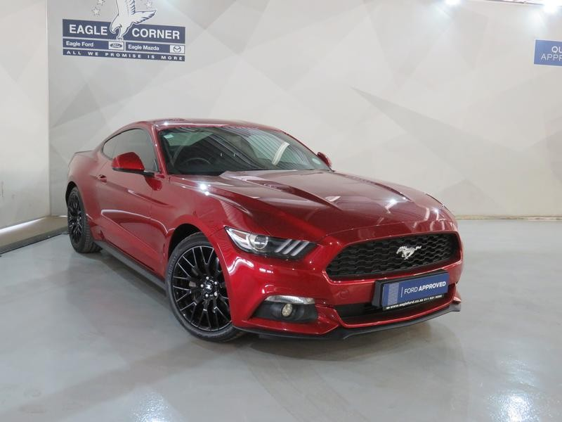 2018 Ford Mustang 2.3 Ecoboost Auto Gauteng Sandton_0