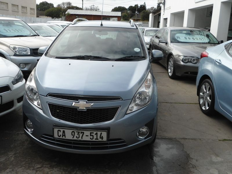 2012 Chevrolet Spark 1.2 Ls 5dr  Western Cape Bellville_0