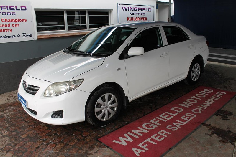 2010 Toyota Corolla 1.3 Professional  Western Cape Kuils River_0